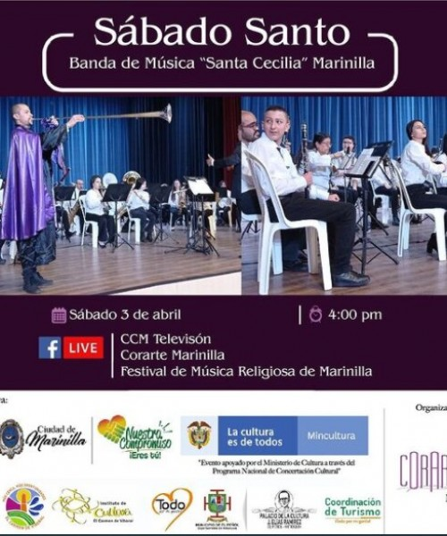 """Banda de música """"Santa Cecilia"""" de Marinilla"""