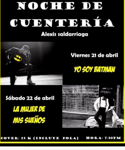 Noche de cuentería - Alexis Saldarriaga
