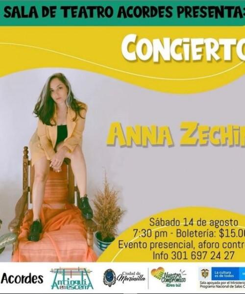Concierto Ana Zechini
