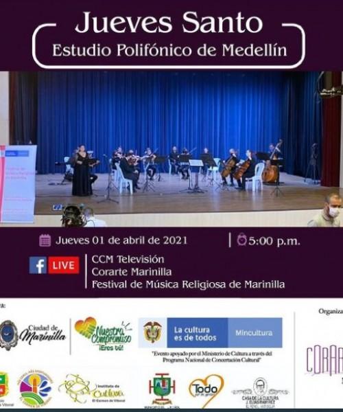 Estudio Polifónico de Medellín – Coro y Orquesta